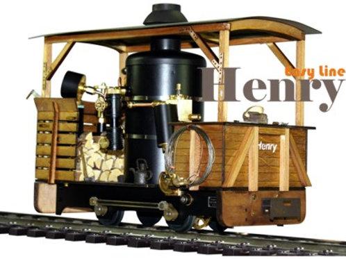 Henry (Easy Line) Dampflokomotive, Bausatz