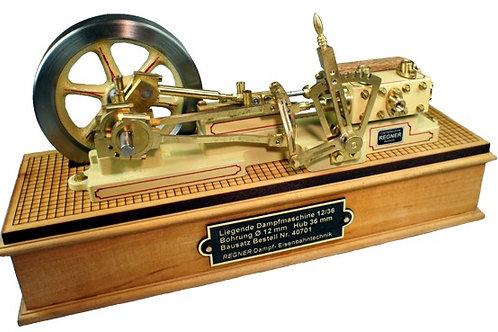 """Dampfmaschine """"Liegende 12/36"""", komplett"""