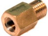 Reduzierungsnippel SW8 außen M6 x 0.75, innen M5 x 0.5