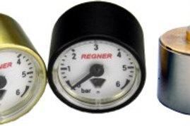 Manometer 23mm, Anschlussgewinde M5 x 0.5