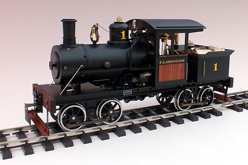 Heisler Dampflokomotive Bausatz
