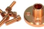 Flanschverbindung für Ø 4mm Kupferrohr (Rohr/ Rohr)