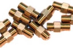 Nippel zum Einschrauben SW 6 (M5 x 0.5), 10 Stück