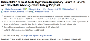Helmet CPAP to Treat Acute Hypoxemic Respiratory Failure in Patients with COVID-19
