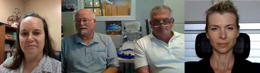 "Zoom Interview with ""Sea-Long"" team: Dr. Laura Austin, Chris Austin, and Duke Eason"