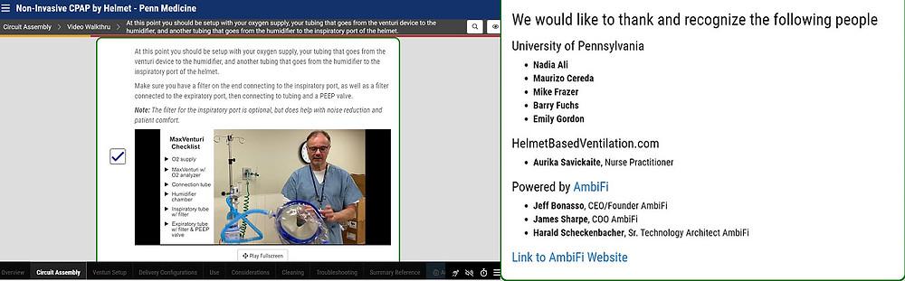 Non-Invasive CPAP by Helmet - Penn Medicine