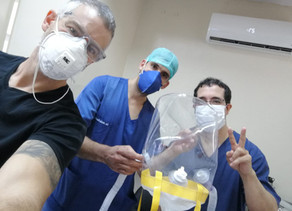 Bubble Helmets made in Paraguay bring down the fear in the medical community during COVID-19