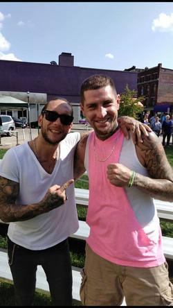 Brandon Novak & Travis Fraley