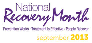 National Recovery Month 2013