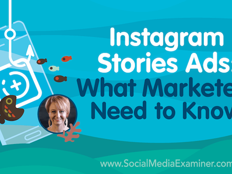 Instagram Stories Ads: What Marketers Need to Know #Instagram #IG #InstagramAds #IGads #IGstories