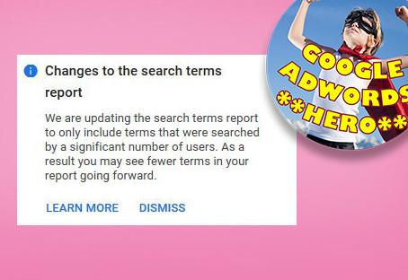 PPC | Google Ads to Limit Search Terms Reporting, Citing Privacy.