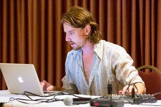 Jaimes DJing Tango Milonga