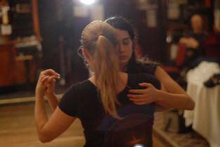 Christa dancing tango with Shorey Meyers