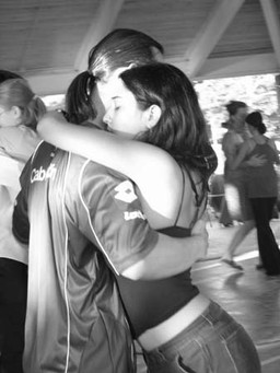 Christa dancing tango