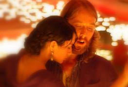 Jaimes and Christa Dancing Tango