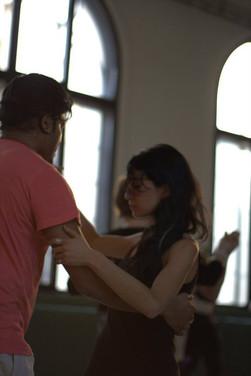 Christa & Binoy dancing tango