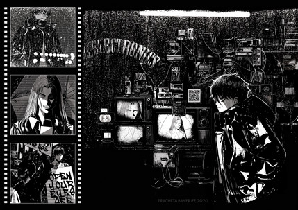 Manga Double-Page Spread