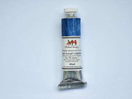 Michael Harding Handmade Artists Oil Colour - Lapis Lazuli (Afghan) No. 702 Series 7