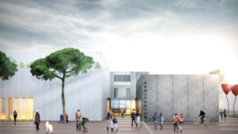 Scuola media Panzacchi di Ozzano, Concorso architettura Ozzano, Archisbang, Concorso scuole innovative, Scuole moderne,
