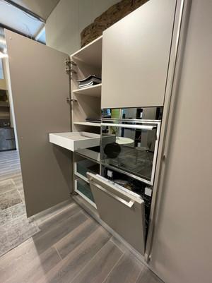 Colonna forno, lavastoglie, dispensa e frigorifero