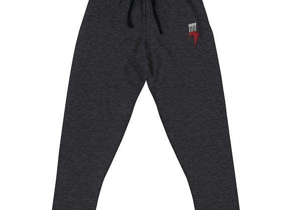 Logo Embroidered Unisex Joggers