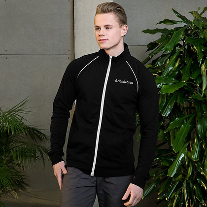ArielsNotes Piped Fleece Jacket