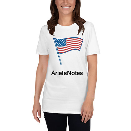 4th of July ArielsNotes Unisex T-Shirt