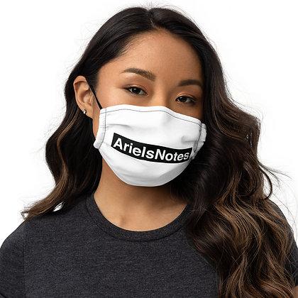 Premium ArielsNotes face mask