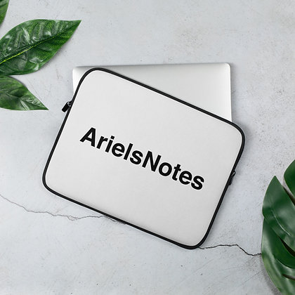 ArielsNotes Laptop Sleeve