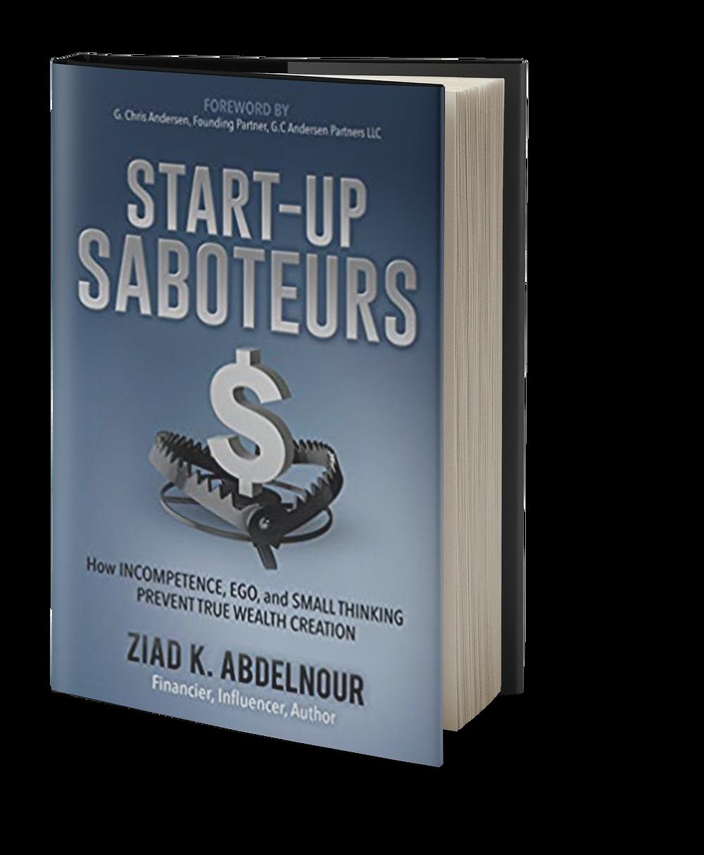 Start-Up Saboteurs book