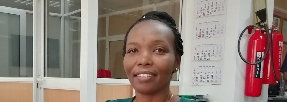 Welcoming Margaret Ngaruiya