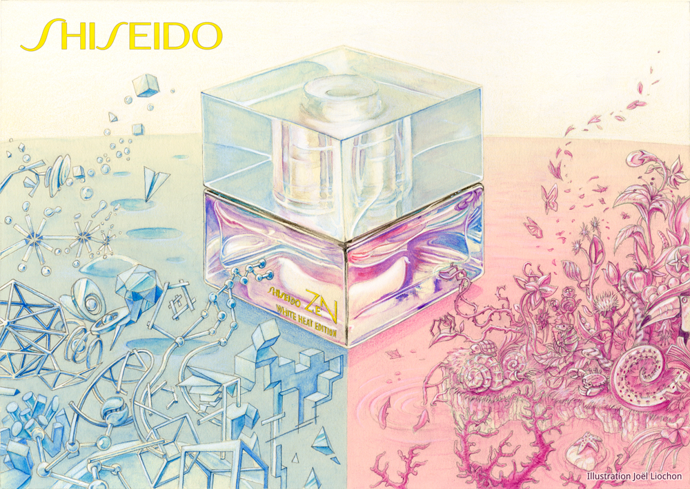 Illustration-Shiseido-parfum-perfume-joelliochon