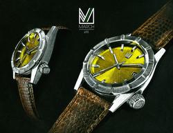 Montre-Horlogerie-watches-dessin-pastel-trait-joelliochon