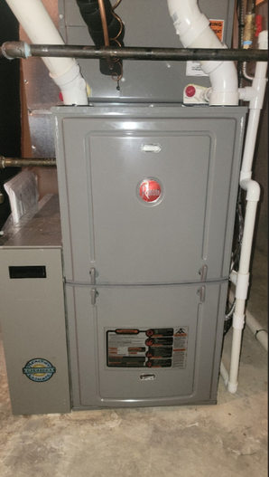 Completed furnace