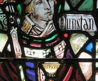 May 19th-The Feast of St. Dustan and the Legend of the Lucky Horseshoe