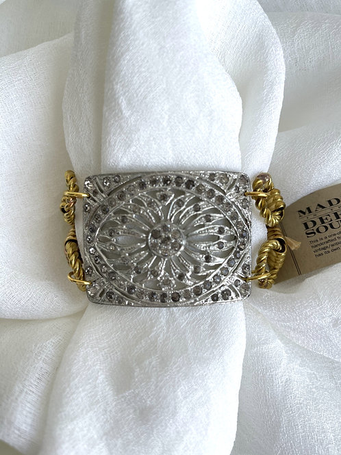 Made in the Deep South Late 1800s French Shoe Clip Bracelet