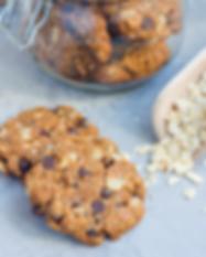Biscotti ai Fiocchi d'avena, cioccolato