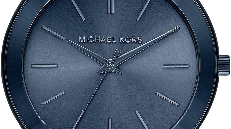Michael Kors Blue Ion Plated