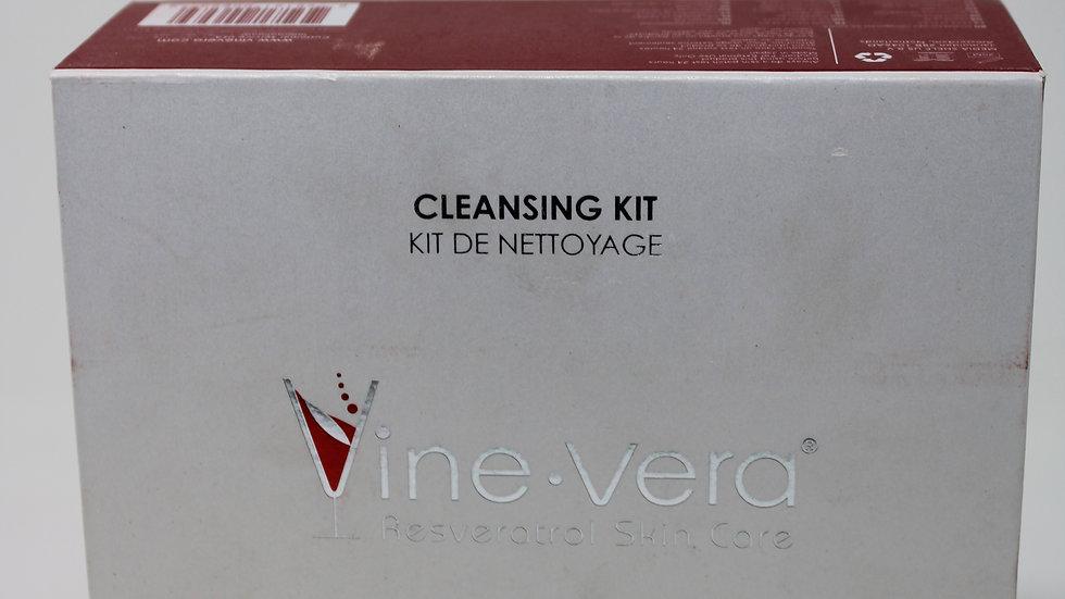 Vine Vera Resveratrol Skin Care; Milk Cleansing Kit