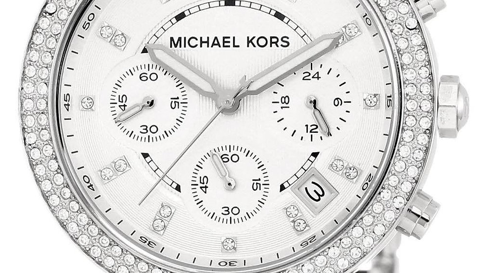 Michael Kors Parker Triple Chrono