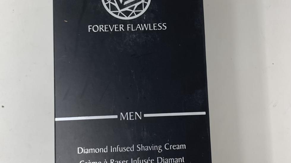 Forever Flawless Men Diamond infused shaving cream