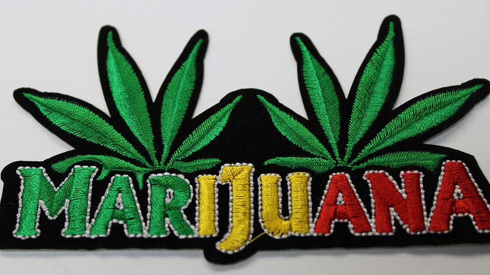 Patch Marijuana Iron On