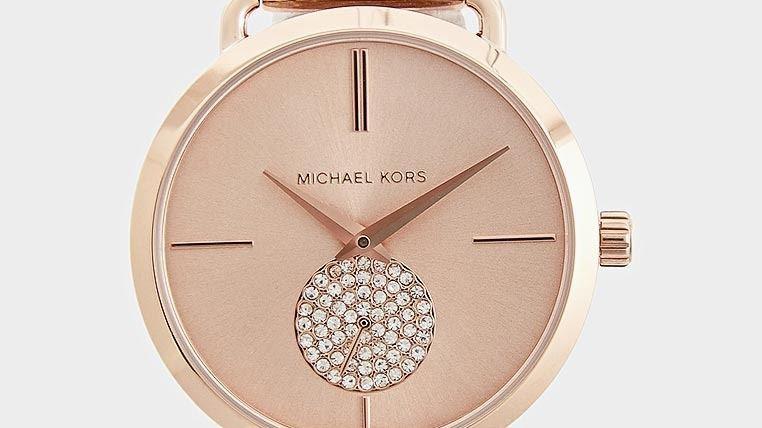 Michael Kors Portia Rose Gold Crystals 38mm