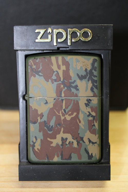 Vintage Zippo - New Old Stock 1994 Canadian Made Camouflage