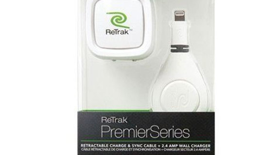 ReTrak Premier Series Wall charger & Lightning