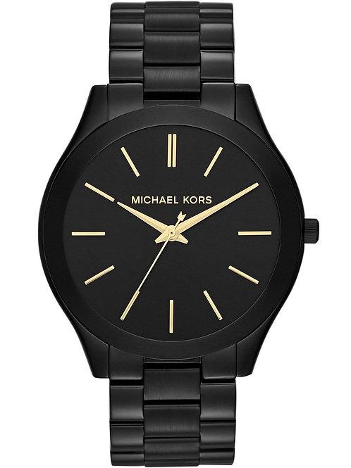 Michael Kors Black Ion Plated