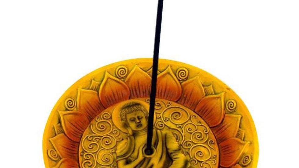 Round Buddha Incense Burner