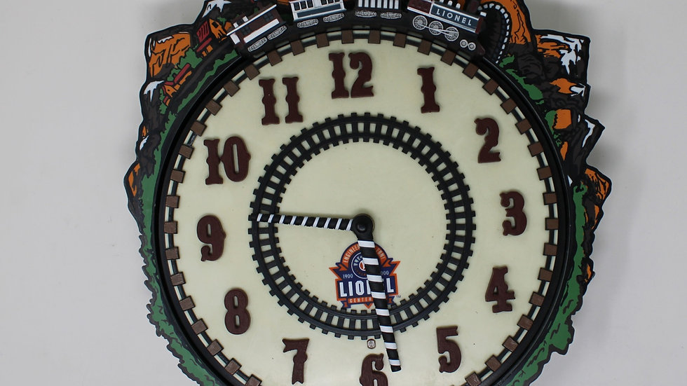 Lionel Trains 100th Anniversary Clock