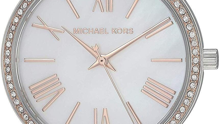 Michael Kors Norie Crystal Studded Two Tone