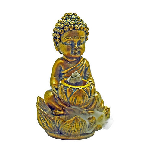 Baby Buddha backflow incense burner